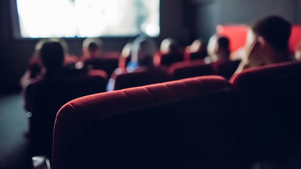 Movie theater people