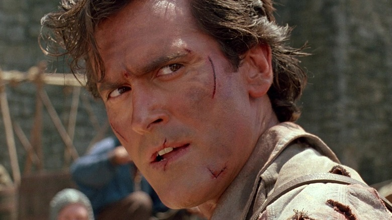 Ash Williams bloody face