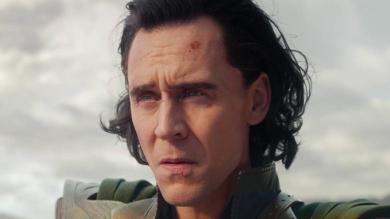 Confused Loki squinting