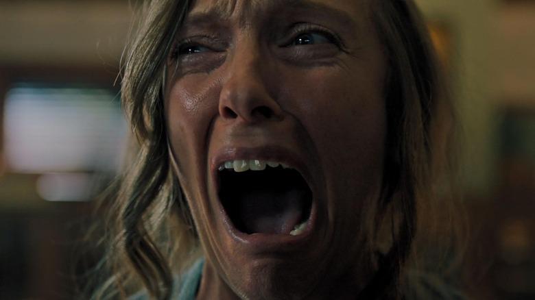 Toni Collette is horrified