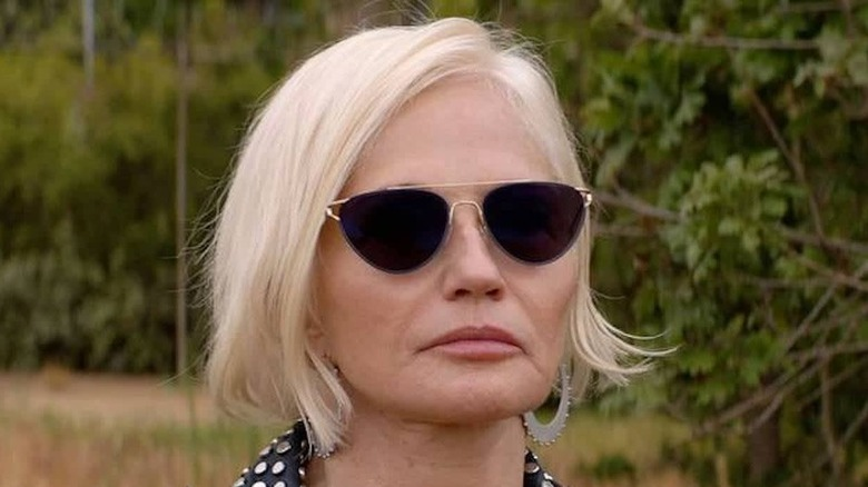 Smurf sunglasses