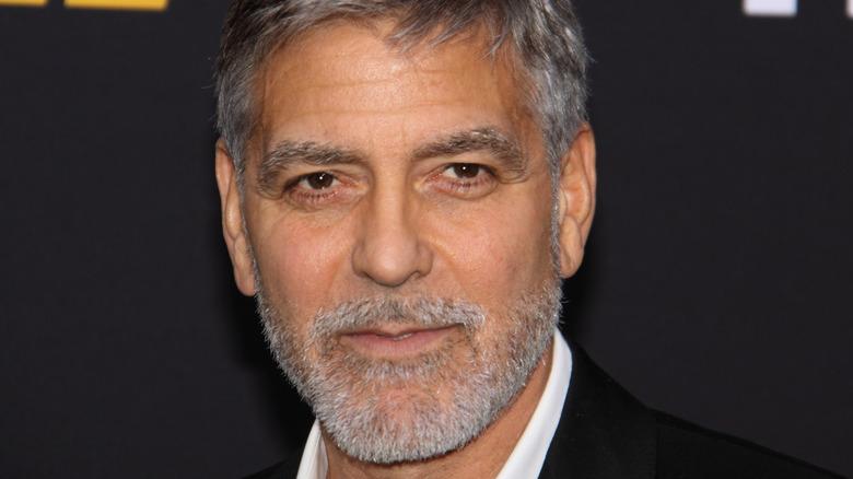 George Clooney gray beard