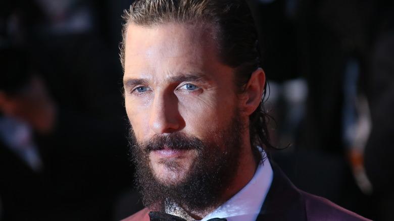 Matthew McConaughey in beard