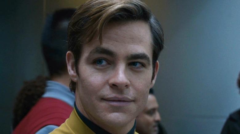 Chris Pine as James T. Kirk in Star Trek Beyond