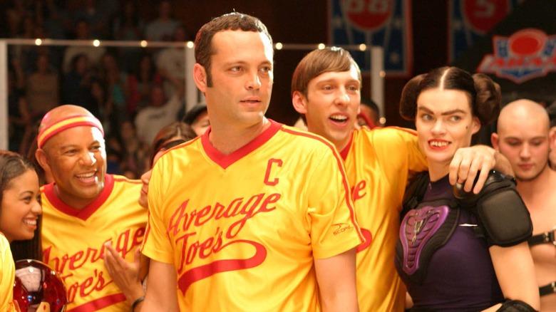 Average Joes dodgeball team