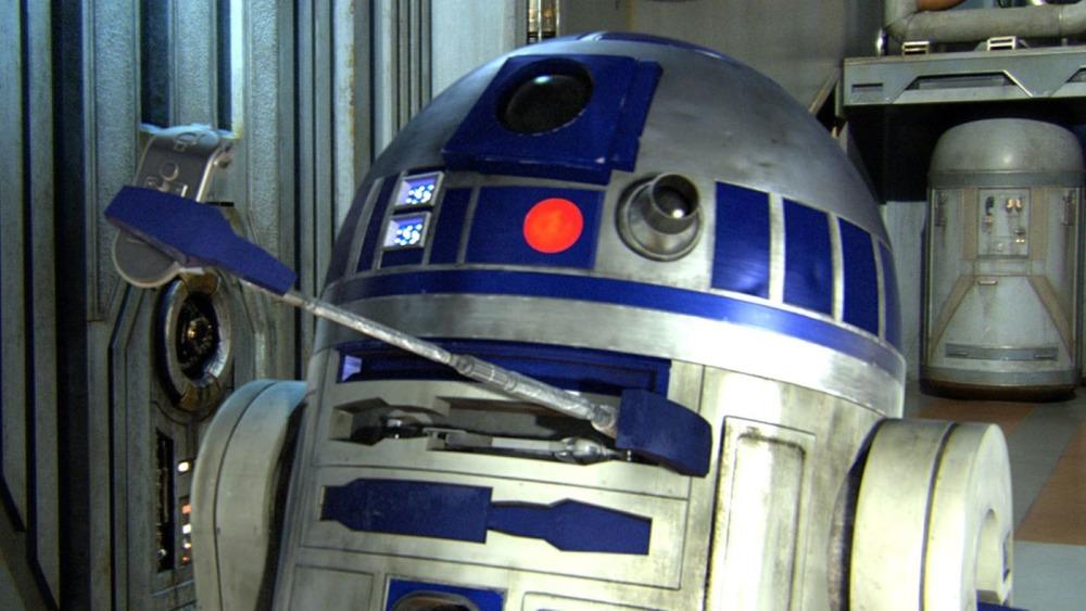 R2D2 in Star Wars Episode IV