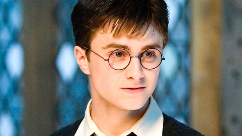 Harry looking determined