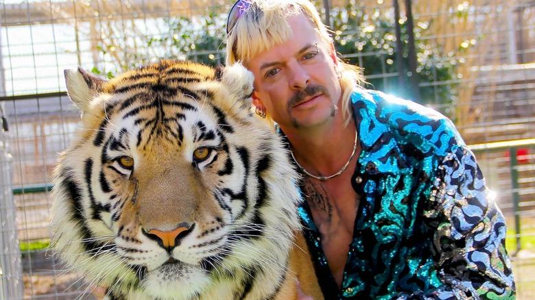 Joe Exotic and tiger
