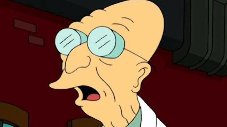 Professor Farnsworth speaking