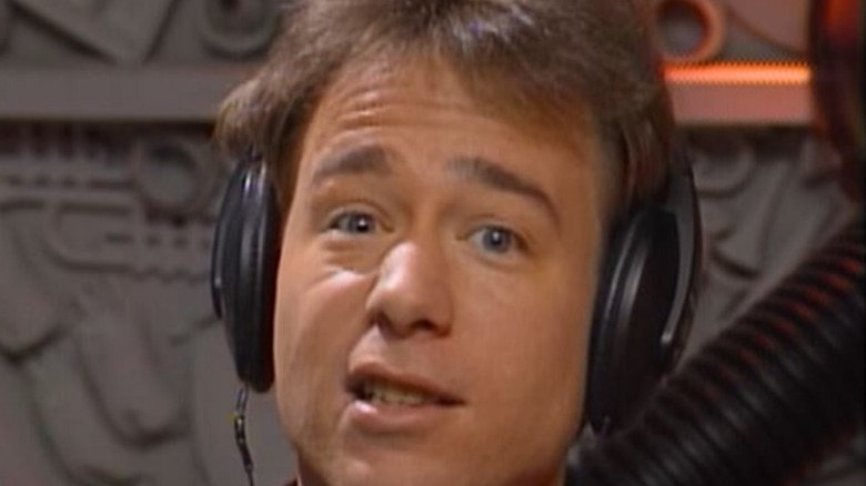 "Joel Robinson saying ""it stinks!"""