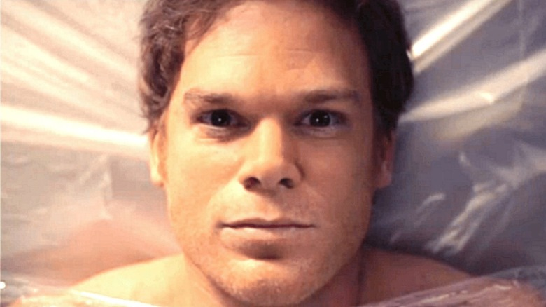 Dexter plastic background