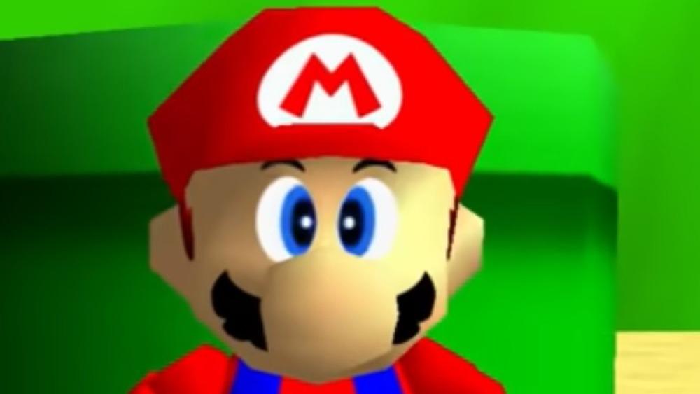 Mario 64 pipe