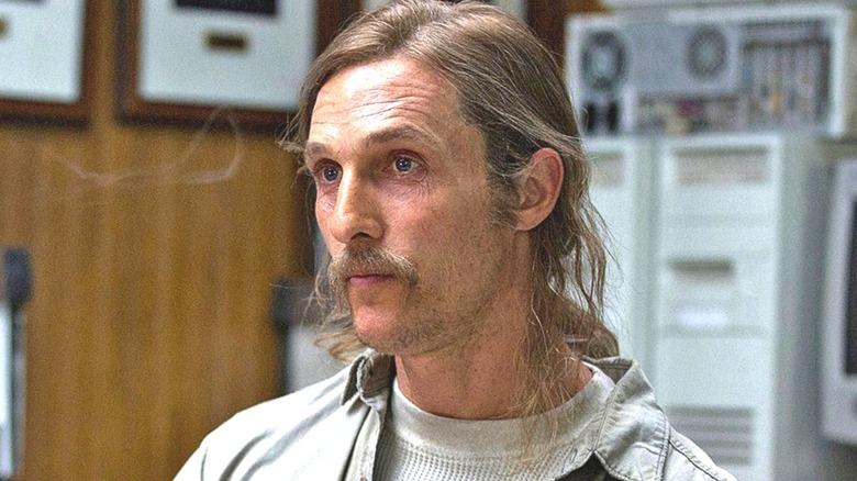 Matthew McConaughey Rustin Cohle long hair