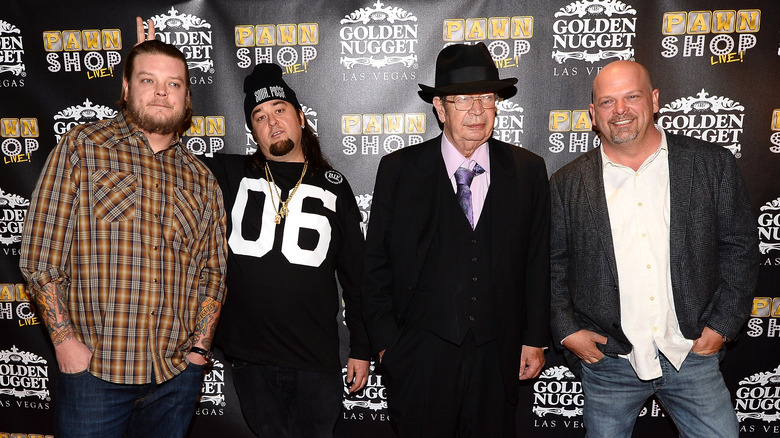 The cast of Pawn Stars