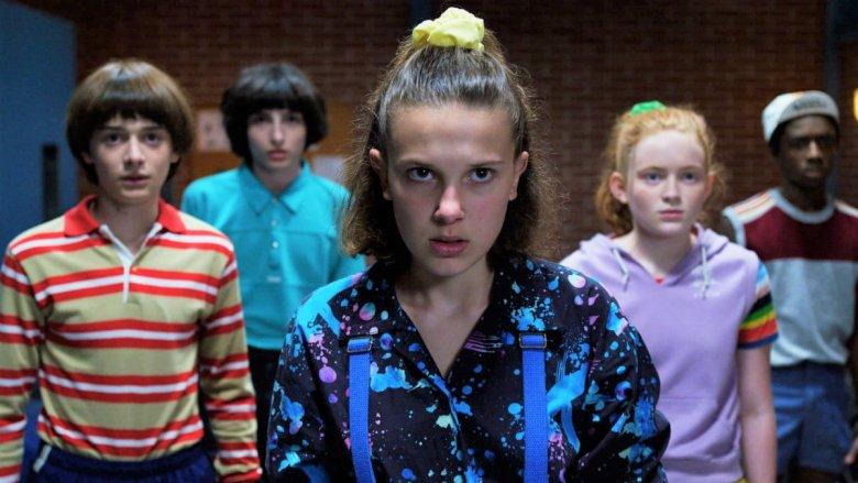 Millie Bobby Brown in Stranger Things season three