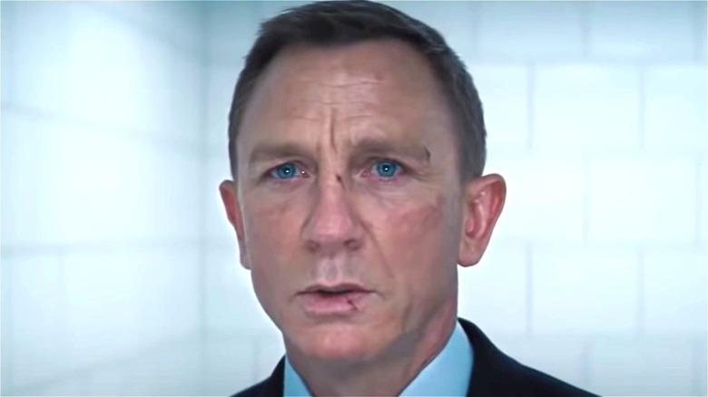 James Bond worried