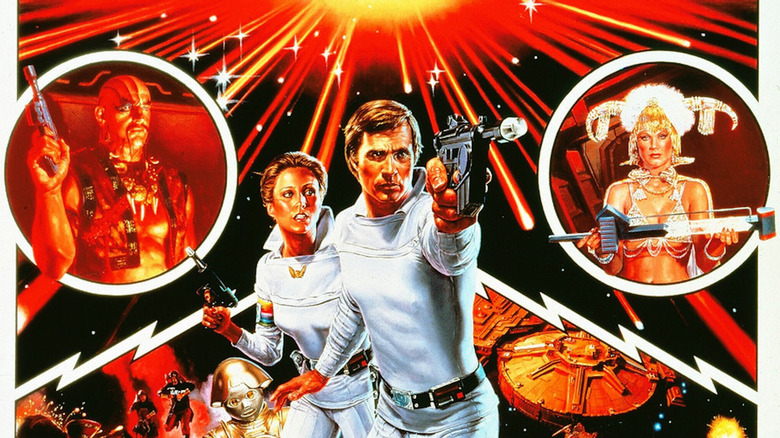 Poster art for the 1979 Buck Rogers TV series