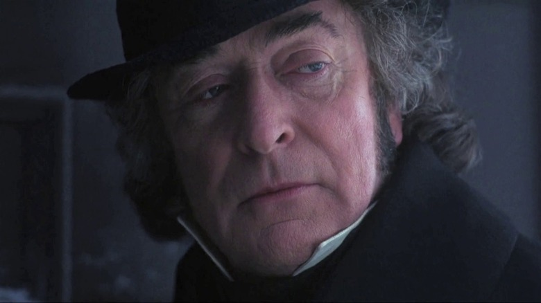 Michael Caine in A Muppet Christmas Carol