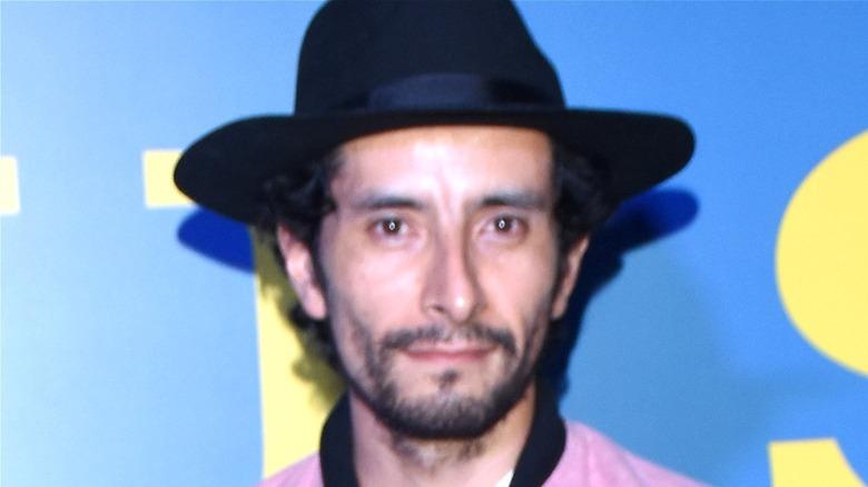 Actor Raul Briones wearing black hat