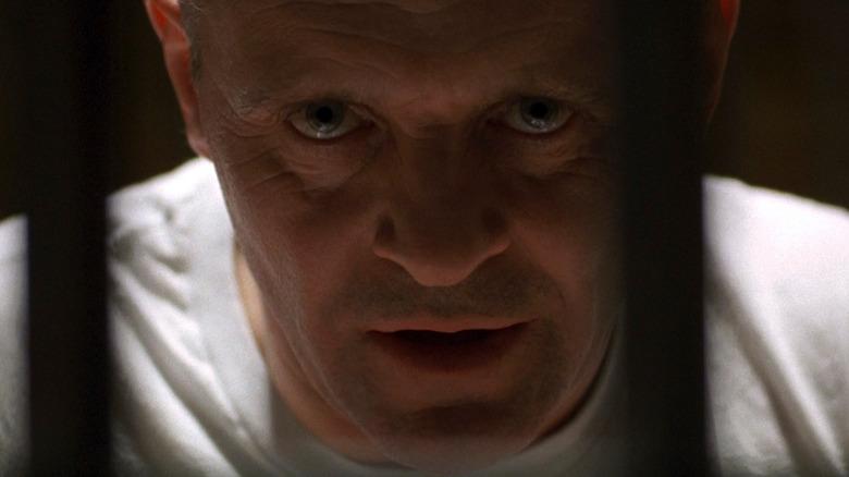 Hannibal Lecter behind bars