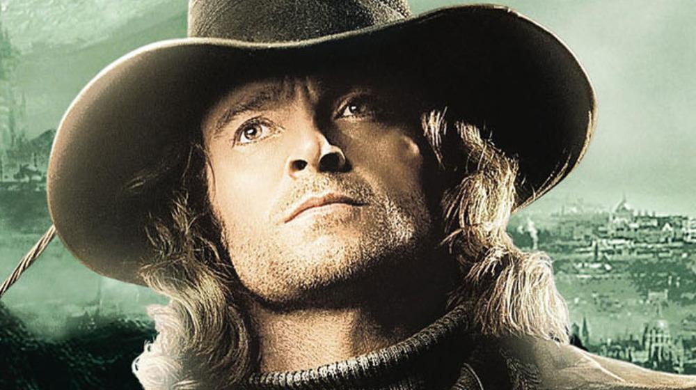 Hugh Jackman on the Van Helsing poster