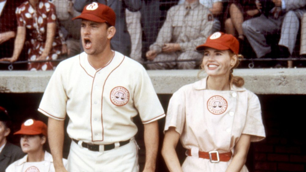 Tom Hanks and Geena Davis in A League of Their Own