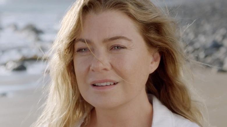 Grey's Anatomy Meredith Beach Dream Sequence