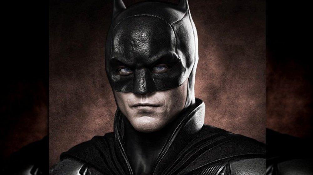 Fan art of Robert Pattinson as Batman
