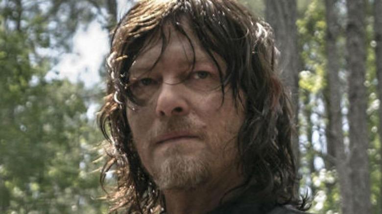 Daryl looking serious