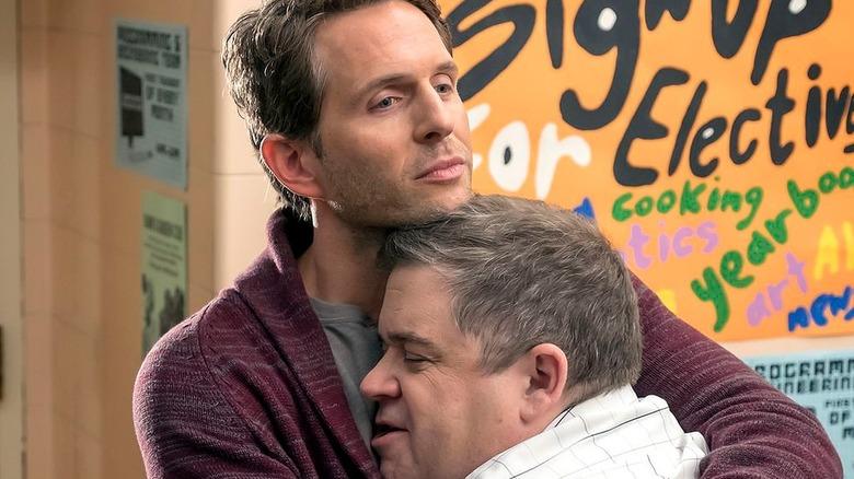 Jack reluctantly hugs Durbin