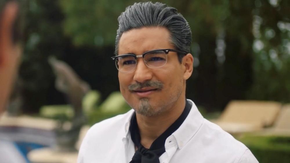 Mario Lopez as Colonel Sanders in Recipe for Seduction