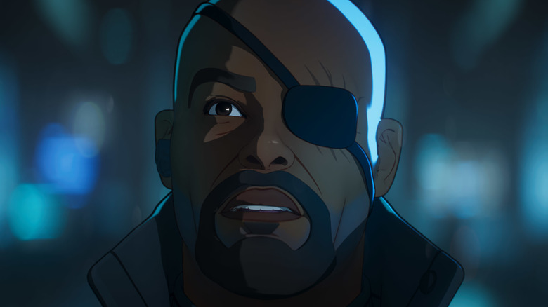 """Nick Fury in Marvel's """"What If...?"""""""