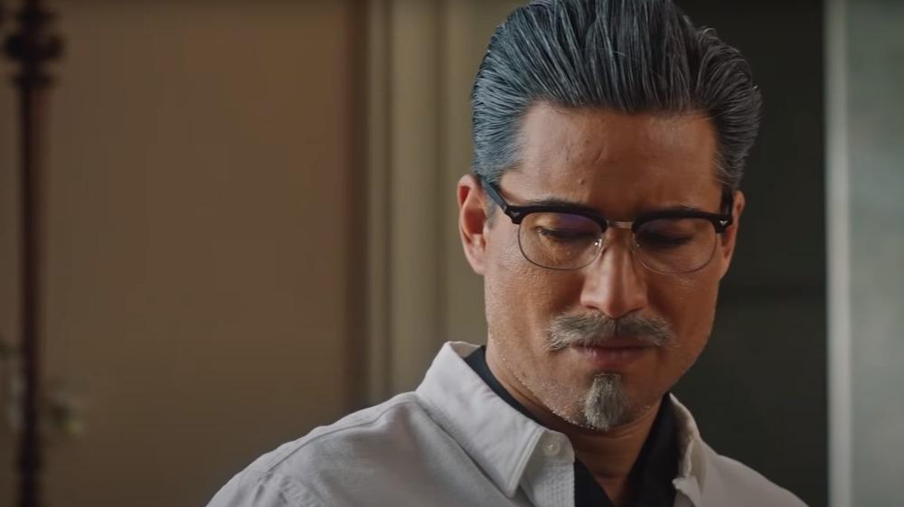 Mario Lopez as Colonel Sanders in A Recipe for Seduction