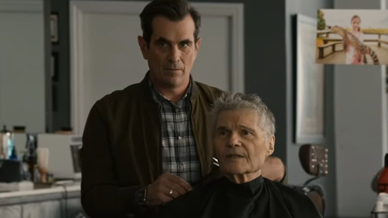 A shot from Modern Family