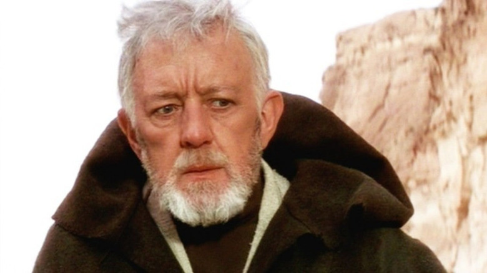 Alec Guinness as Obi-Wan Kenobi in Star Wars: Episode IV -- A New Hope