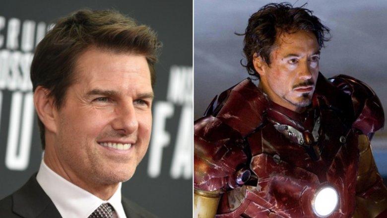 Tom Cruise/Robert Downey Jr. in Iron Man