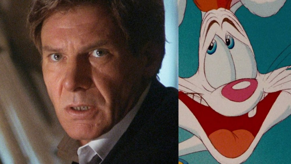 Harrison Ford in Air Force One, Roger Rabbit in Who Framed Roger Rabbit?
