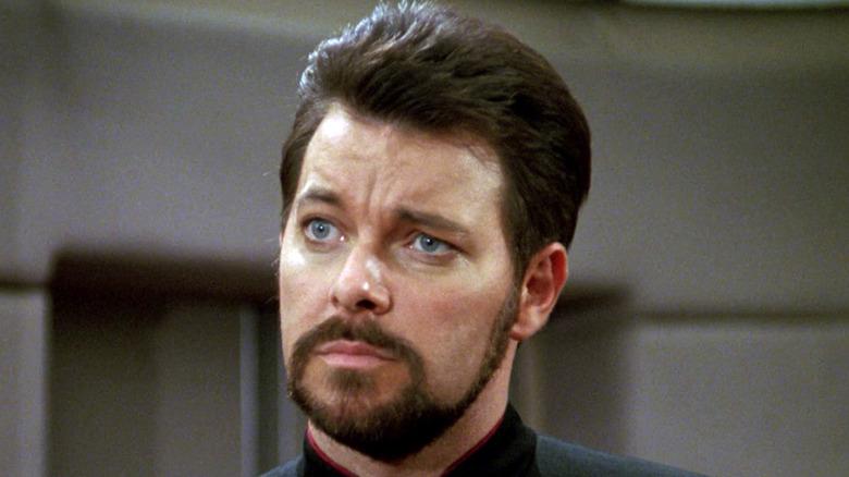 Jonathan Frakes as Riker in Star Trek
