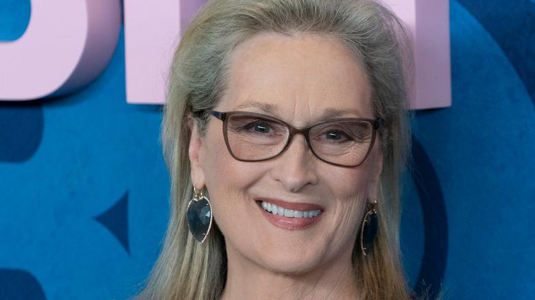 Meryl Streep at a premiere