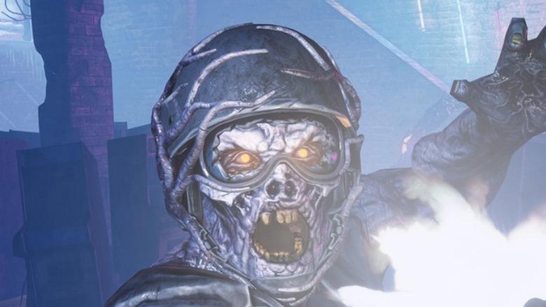 Snowbreed wearing helmet