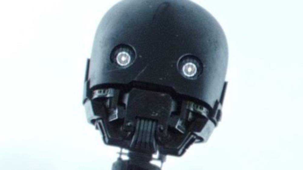 K-2SO droid loooking down
