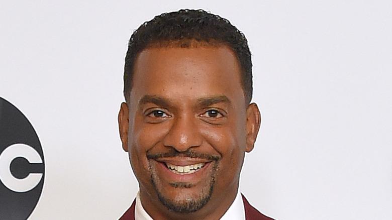 Alfonso Ribeiro smiling red carpet
