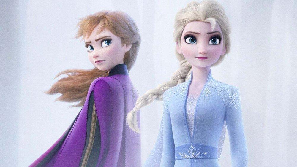 Princess Anna and Queen Elsa from Frozen II