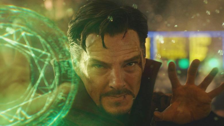 Benedict Cumberbatch Doctor Strange casting spell