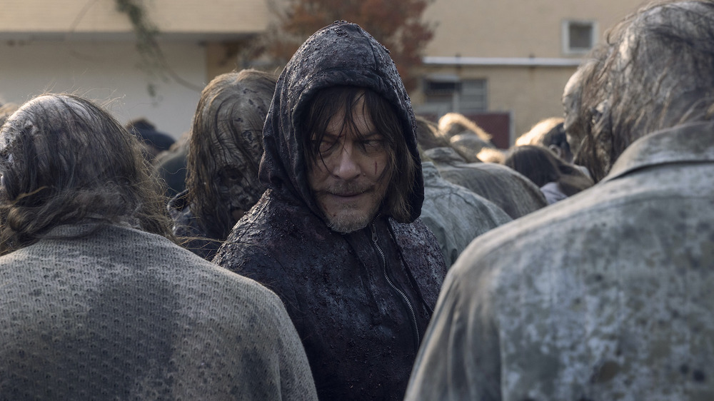 Norman Reedus as Daryl on The Walking Dead