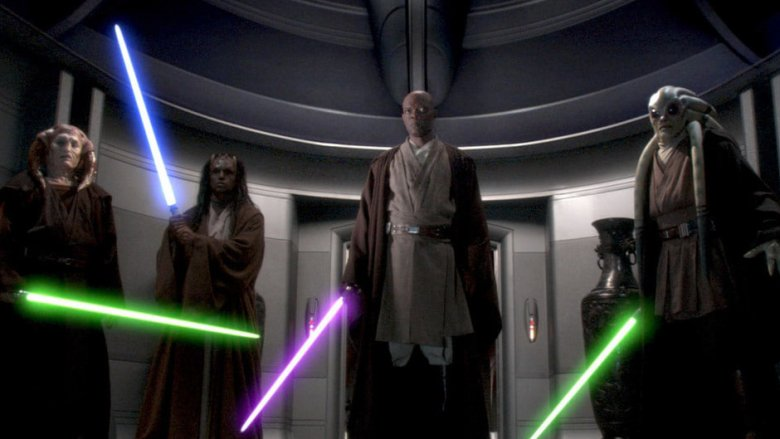 Scene from Star Wars: Revenge of the Sith