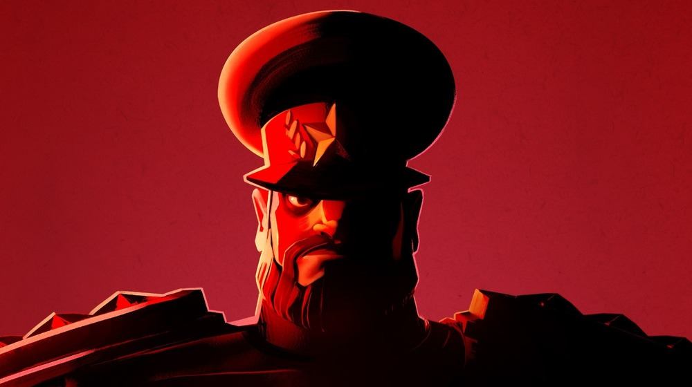 Red Ivan Evil Genius