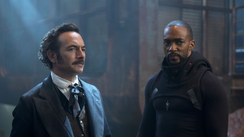 Chris Conner and Anthony Mackie on season 2 of Altered Carbon