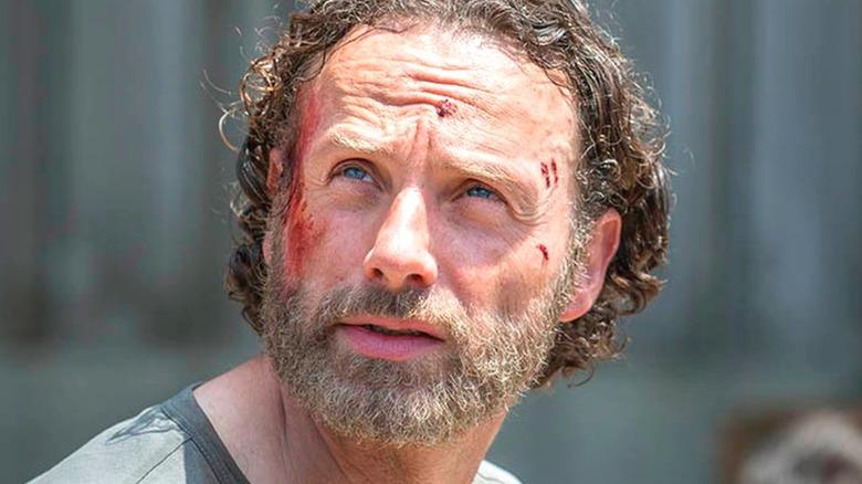 Rick Grimes Bleeding