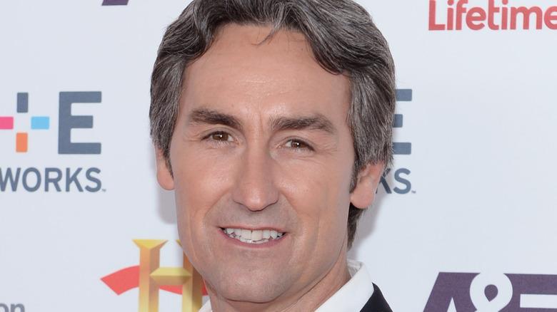 Mike Wolfe grey hair